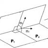 Прямая в пространстве – виды уравнения прямой в пространстве