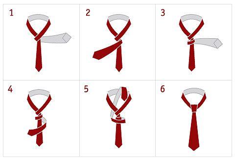 Нормального фото шпоры не было, поэтому вот вам инструкция, как завязать галстук (пригодится)