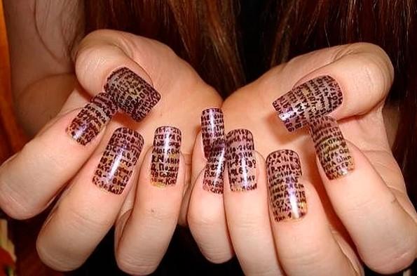 Шпоры на ногтях